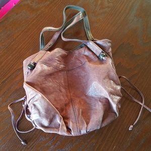 Lucky Genuine Leather Hobo Bag